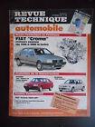 """Revue technique automobile n°507 09/1989 Fiat """"Croma"""" moteurs essence"""