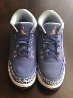 Nike Youth Sz 7, Air Jordan Retro 3 GG Nike Shoes Purple Pink 441140 506
