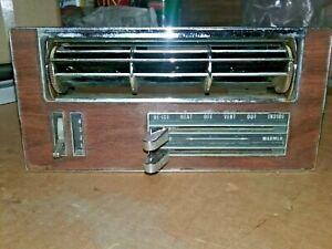 OEM GM 1966-1967 Pontiac GTO, Lemans,  Dash Heater Control AC     #421-1