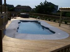 Inground Fiberglass Swimming Pools 14x31x6 $12,700 Colors Available Save $