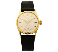 Patek Philippe Calatrava 18K Yellow Gold Manual Wind Mens Vintage Watch 3796J