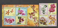 Philippine Stamps 2016 Philippine Orchids Complete set MNH