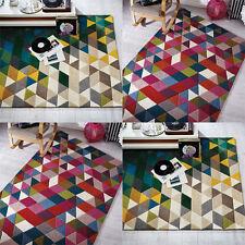 Geometric 100% Wool Rugs