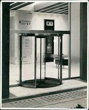 Revolving Interior doors. Unknown building. London photographers. (ZO.4)