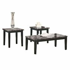 Ashley Furniture Occasional Table Set (3/CN) Maysville Black T204-13 Table NEW