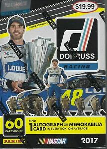 2017 Donruss Racing Cards  Blaster Box  NEW and Factory Sealed
