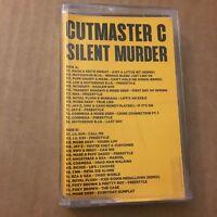 DJ Cutmaster C Silent Murder RARE NYC 90s Hip Hop Rap Cassette Mixtape Tape