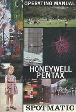 Honeywell Pentax Spotmatic Instruction Manual-Product Catalog