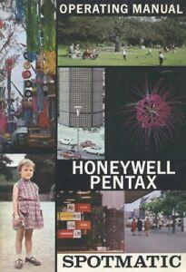 Honeywell Pentax Spotmatic Instruction Manual-Product Catalog original