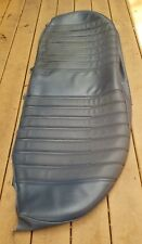 MERCEDES-BENZ W123 MB TEX REAR SEAT BOTTOM COVER OFF 78 300D SEDAN DARK BLUE