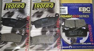 kit pastiglie anteriori + posteriori Yamaha X-MAX 400 2013-2020