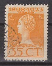 NVPH Netherlands Nederland nr 127 used gebruikt 1923 Wilhelmina Pays Bas