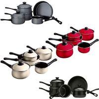 5 Piece Non Stick Set Ecocook Saucepan Set With Lids Milk Frying Pan - Premier