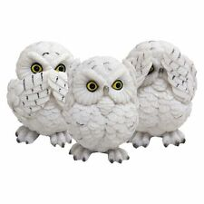 Three Wise Owls (Set of 3) Figurines By Nemesis Now / Speak' Hear' See No Evil
