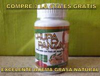 * CHUPA PANZA CAPSULAS JENGIBRE FAT BURNER QUEMA GRASA L-CARNITINA REDUCE TALLAS