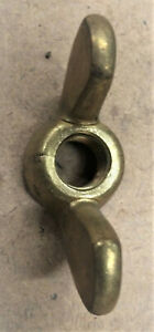 """Brass wing nuts: 5/8""""-11 course thread, price per nut"""