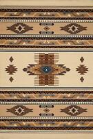 "Southwest Southwestern Native American Beige Area Rugs 5'3"" x 7'6"" Centerpiece"