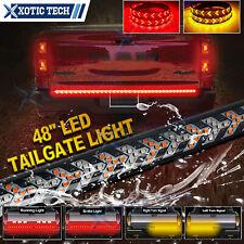"48"" 432Led Truck Strip Tailgate Flowing Turn Signal Brake Tail Reverse Light Bar"