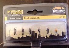 Graham Farish 379-300. Businessmen Figures. N Scale.