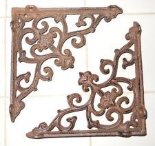 16 Cast Iron Antique Style ARROW Brackets, Garden Braces Shelf Bracket