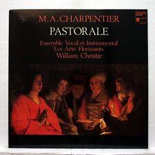 WILLIAM CHRISTIE - CHARPENTIER pastorale, magnificat HARMONIA MUNDI LP NM