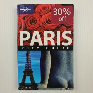 Paris City Guide - Lonely Planet - Paperback Book 2008 7th Ed - TRACKED POST