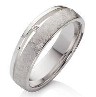 Verlobungsring aus 925 Silber Damenring mit Zirkonia und Ring Gravur SDZ43