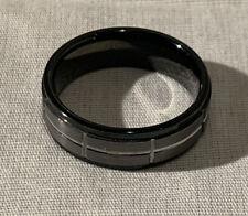 Spikes-TU Tungsten Carbide New Mens Wedding Ring Size 13