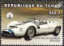 1960-1961 MASERATI  TIPO 63 Birdcage Sports Car Automobile Stamp