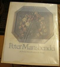 Peter Mansbendel Swiss Woodcarver In Texas 1977 Rare Free US Shipping Exhibit