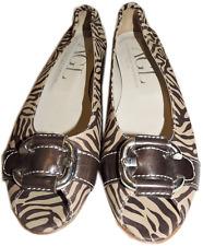 $325 Agl Attilio Giusti Leombruni Leather Flat Peep Toe Shoe Sandal Slide 38-7.5