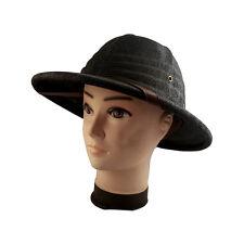Men Women Outdoor Hard Straw Hiking Hat Helmet Sun Hat Safari Pith Jungle Cap