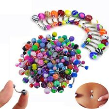 Ring Navel Rings Bar Body Piercing Gift Fashion 30 Pcs Ball Belly Button Jewelry