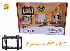 "SOPORTE DE PARED TV LCD LED PLASMA MONITORES PARA 14"" A 42"" UNIVERSAL VESA"