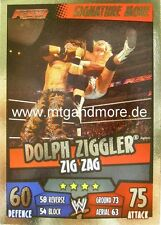 Slam attax rumble-Dolph ziggler zig zag-signature move