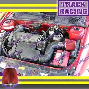 1996-1998 BUICK SKYLARK OLDSMOBILE ACHIEVA 3.1 3.1L V6 AIR INTAKE KIT Blue Red