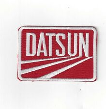 DATSUN  Iron On Patch 3 inch x 2 inch