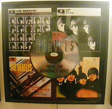 Beatles light box poster RARE 3'x3' Original capitol cd vintage photo paper