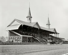 1901 CHURCHILL DOWNS Racetrack Kentucky Derby Glossy 8x10 Photo Print Poster
