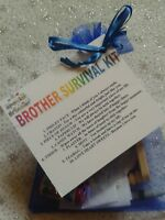 BROTHER SURVIVAL KIT Novelty Keepsake Christmas Birthday Gift