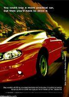 1998 CHEVROLET Red CAMARO Z28 Convertible Car AD
