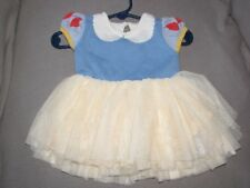 Baby Gap Girls Size 3-6 Months Disney Snow White Yellow Tutu Sweater Dress