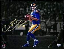 """Джаред Гофф Los Angeles Rams подпись 11"""" X 14"""" прожектор фото-фанатиков"""