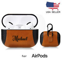 For Apple AirPods Pro Leather Case Protective Cover Personalized Gift
