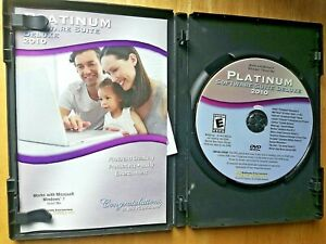 Platinum Software Suite Deluxe 2010 PC Windows Compatible PC Treasures