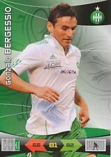 GONZALO BERGESSIO AS.SAINT-ETIENNE CARTE CARD ADRENALYN LIGUE 1 2011 PANINI D