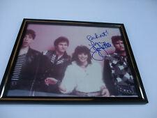 Joan Jett Signed Autograph Photo Blackhearts Punk Rock & Roll Classic Icon