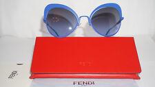 2d33ad2f86a1 FENDI Sunglasses Authentic New Blue Blue Gradient FF0247 S PJPGB 54 22 135