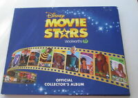 Woolworths Disney Movie Stars Projector Cards Empty Album