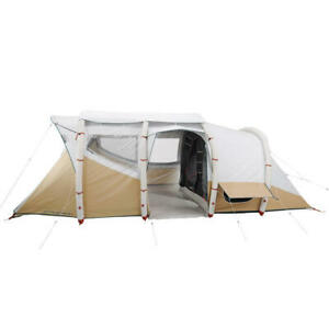 Quecha Air Seconds 6.3 Fresh And Black Inflatable Camping Tent.